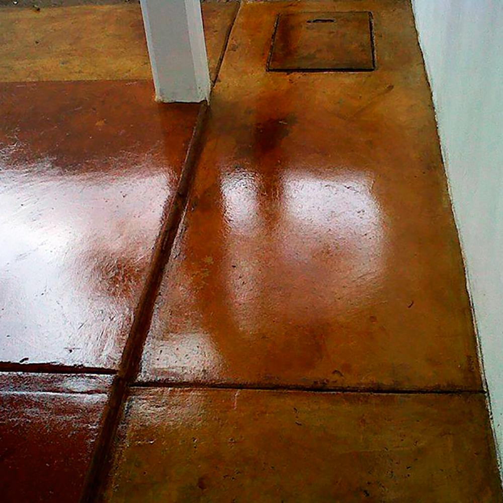 Piso pulido con color piso pulido con color piso pulido - Encerar suelo madera ...